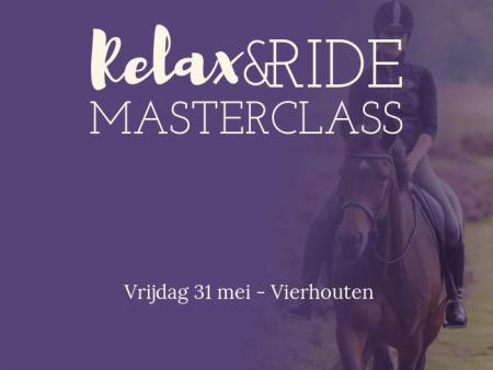 Relax&Ride Masterclass 31 mei